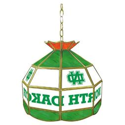 NCAA University of North Dakota Tiffany Gameroom Lamp, 16""