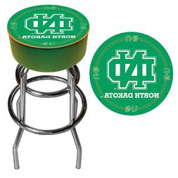 NCAA University of North Dakota Padded Swivel Bar Stool