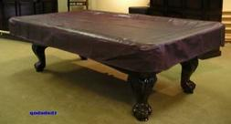 NEW Imperial 8' Mahogany Real Naugahyde Pool Table Cover FRE