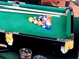 New Mini Tabletop Pool Table Billiard Side Pockets