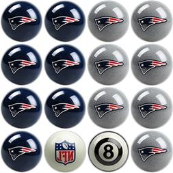New England Patriots NFL Home vs. Away Billiard Balls Full S
