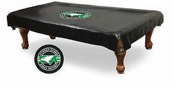 North Dakota Fighting Hawks Black Vinyl Billiard Pool Table