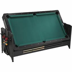 Fat Cat Original Pockey 3-In-1 Pool/ Billiard Air Hockey Tab