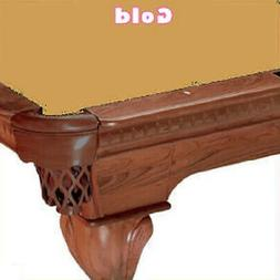 8' Oversized Simonis 760 Gold Billiard Pool Table Cloth Felt