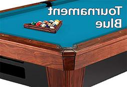 8' Oversized Simonis 860 Tournament Blue Billiard Pool Table