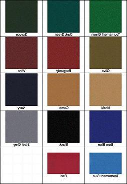 New 8' Proform High Speed Pool Table Cloth Felt - Black - Sh