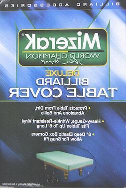 Mizerak P0863 Billiard Deluxe Table Cover