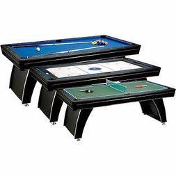 Fat Cat Phoenix MMXI 3-In-1 Pool/Billiard Air Hockey Table T