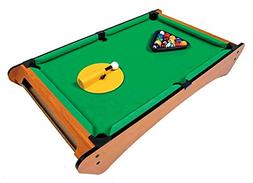 Big Time Pivot Pool Tabletop Portable Billiards Game with 16