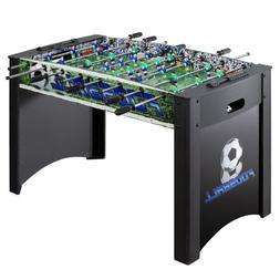 Hathaway Playoff 4' Foosball Table, Soccer Game for Kids a