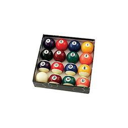 """Standard Pool Ball Set 2-1/4"""" Set with 2-1/4"""" Magnetic Cue B"""
