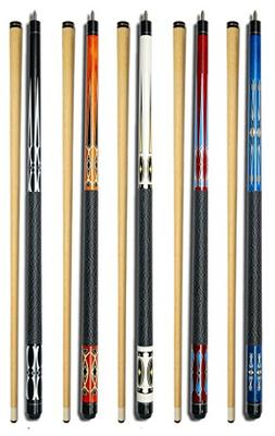 "Set of 5 Pool Cues New 58"" Billiard House Bar Pool Cue Stick"