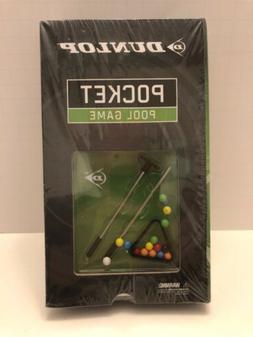Pool Game Billiards Dunlop Pocket Tabletop Mini Travel Game