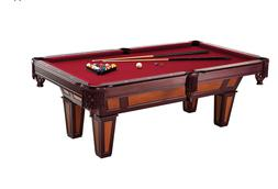 Pool Table 7' Cherry/Maple Billiards Sticks and Table With B