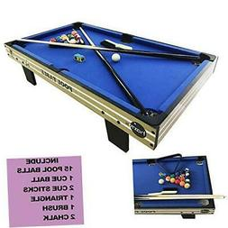 Pool Table Accessories Kit with Pool Balls, Pool Chalk, Pool