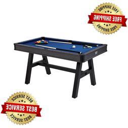 Pool Table Billiard Cue Set Accessory Kit Compact 60 Inch Ga