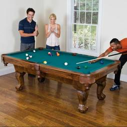 Pool Billiard Table Traditional Drop Pocket Dining Cue Rack