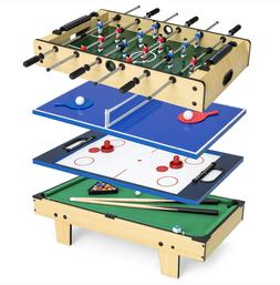 Pool Table Billiards Air Hockey Foosball Table Tennis Pingpo
