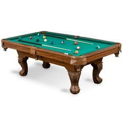 POOL TABLE Billiards Set With All Accessories Wood 7 Feet Gr