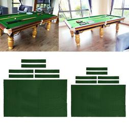 Pool Table Cloth Felt Snooker Table Accessories for Billiard