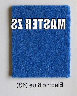 POOL TABLE FELT, ELECTRIC BLUE, 8 FT, CHAMPIONSHIP INVITATIO