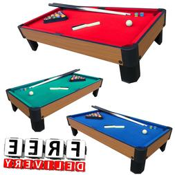 "Pool Table Game 40"" Billiard Set Kit Fun Kid Indoor Sport Ch"
