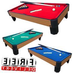 "Pool Table Game 40"" Billiard Set Kit Fun Kid Indoor Sport Ch"