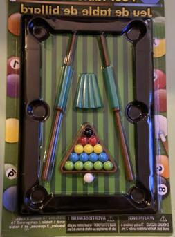 Pool Table Game - Miniature Pool Game - Tiny Pool / Billiard
