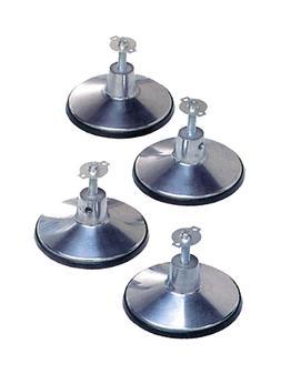 Imperial Pool Table Leg Levelers Chrome Finish Heavy Duty Ru