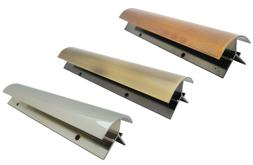 Pool Table Plated Aluminum Apron Mitre set of 4 pieces