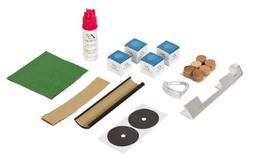 Pool Table Repair Kit Deluxe Cue Tip Billiard Stick Service