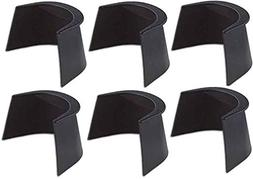"""Game Room Guys 4"""" Pool Table Rubber Pocket Liners - Set of 6"""