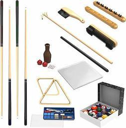 Premium 32-piece Pool Table/Billiards Accessory Kit- Cue Sti
