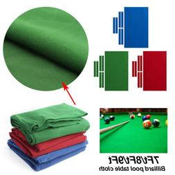 Pro Worsted Nylon Billiard Pool Table Cloth 7ft 8ft 9ft Mat