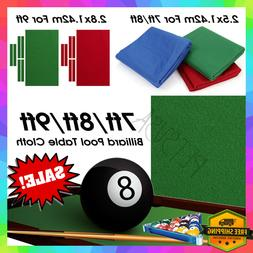 Professional Billiard Pool Table Cloth Mat Cover Felt Access