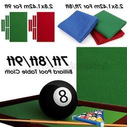 Professional Billiard Pool Table Cloth Mat Cover Felt Access