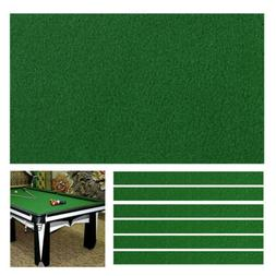 Professional Worsted Pool Table Felt Billiard Cloth Mat Cove