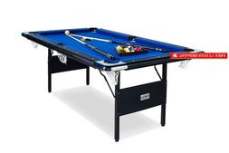 Rack Vega Foldable 6-Foot Billiard/Pool Table, Includes Comp