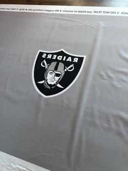 Raiders Pool Table Felt 7 or 8' tables