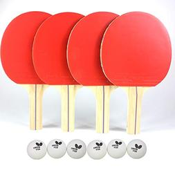 Butterfly RDJ Player Ping Pong Paddle Set – Includes Ping