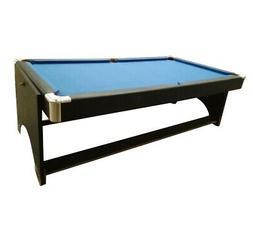 8.5' x 4.3' Recreational 2in1 Spin Around Pool Billards Tabl