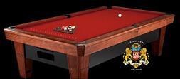 Simonis Red Billiard Cloth- 8 Foot Cut