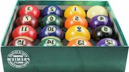 "Aramith 2-1/4"" Regulation Size Premium Billiard/Pool Balls,"