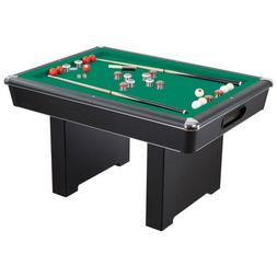 Hathaway Renegade Bumper Pool Table, Green, 54-Inch