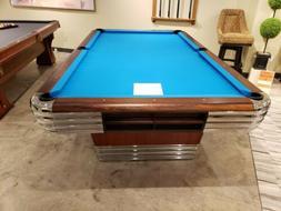 Restored 9' 1946 Brunswick Centennial pool table