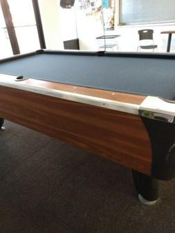 Restored 9' Brunswick Centennial pool table
