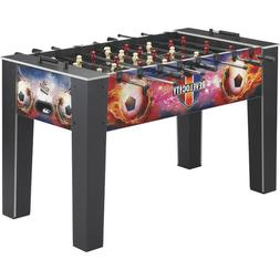 Revelocity Foosball Table Game w/ Quick Snap Player Rods Woo