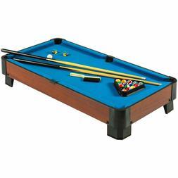 Hathaway Sharp Shooter Mini Compact Pool Table Set Blue 40-I