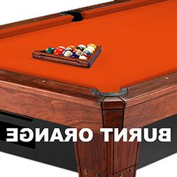 8' Simonis 860 Burnt Orange Pool Table Cloth Felt