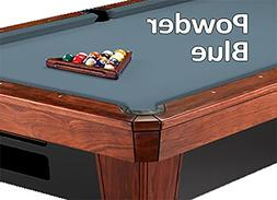 9' Simonis 860 Powder Blue Pool Table Cloth Felt